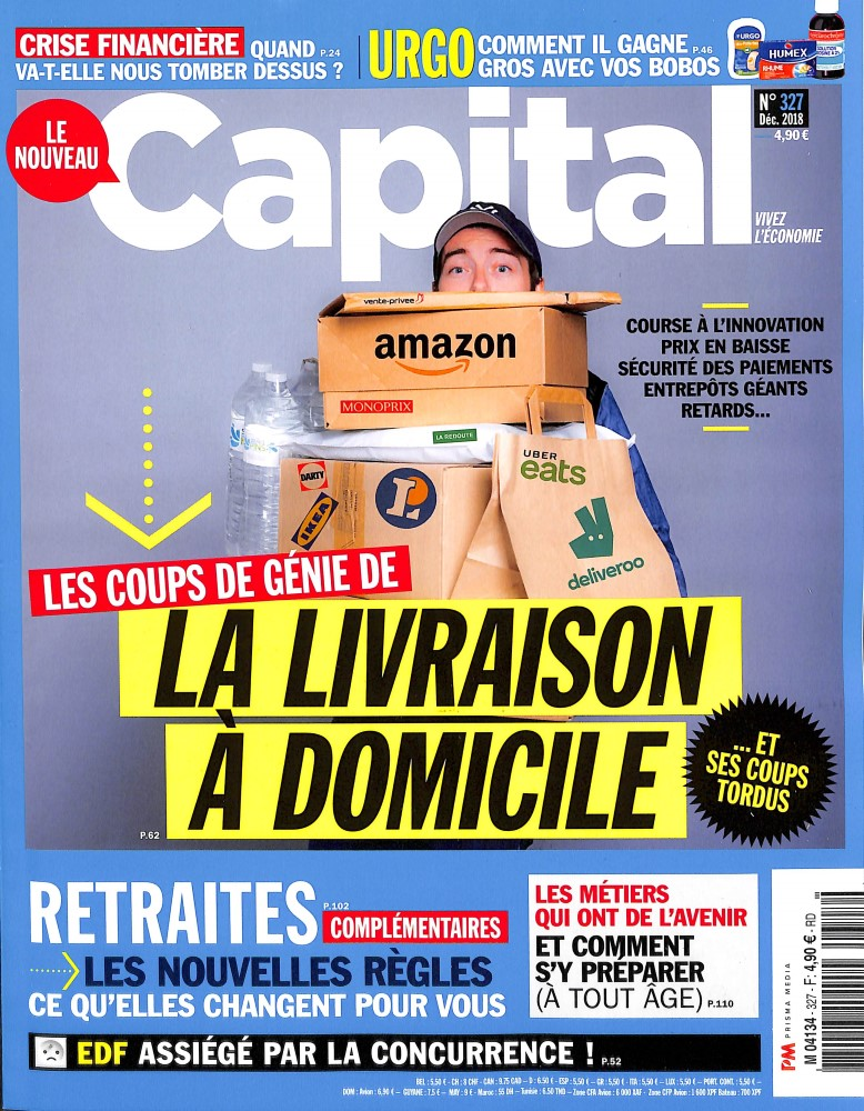 Abonement CAPITAL - Revue - journal - CAPITAL magazine