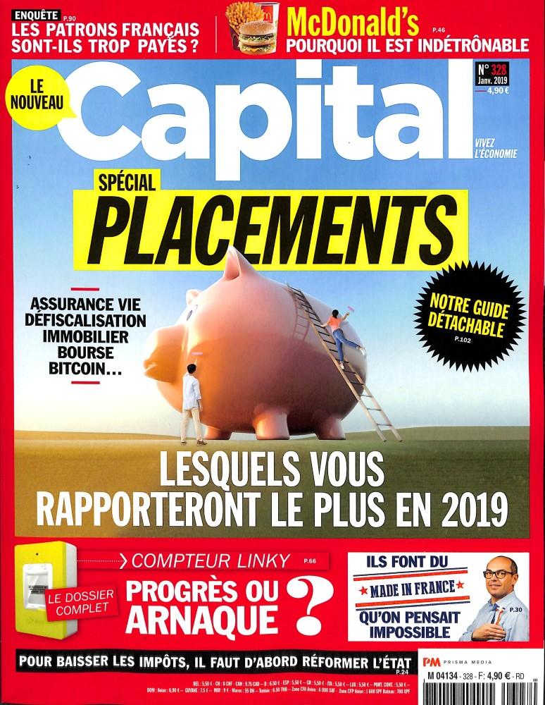 Capital N° 328 Décembre 2018
