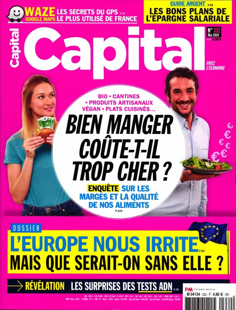 Capital N° 332 Avril 2019