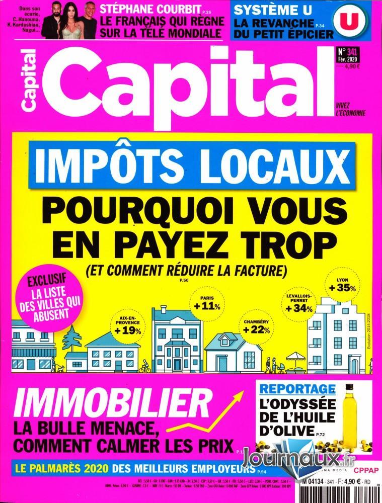 Capital N° 341 Janvier 2020