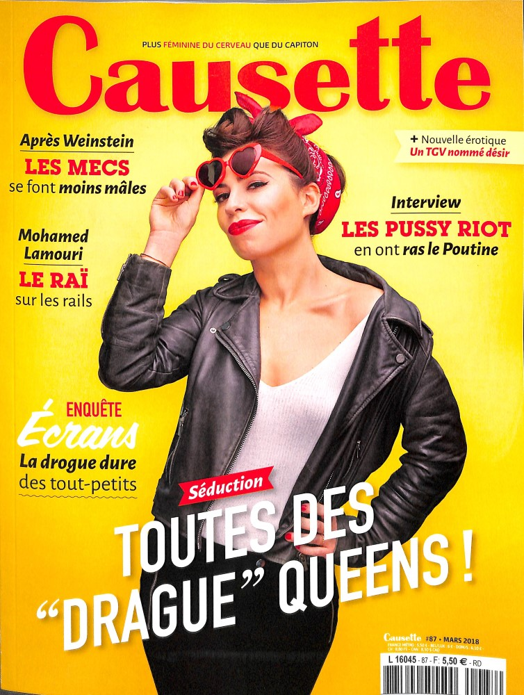 Causette N° 87 March 2018