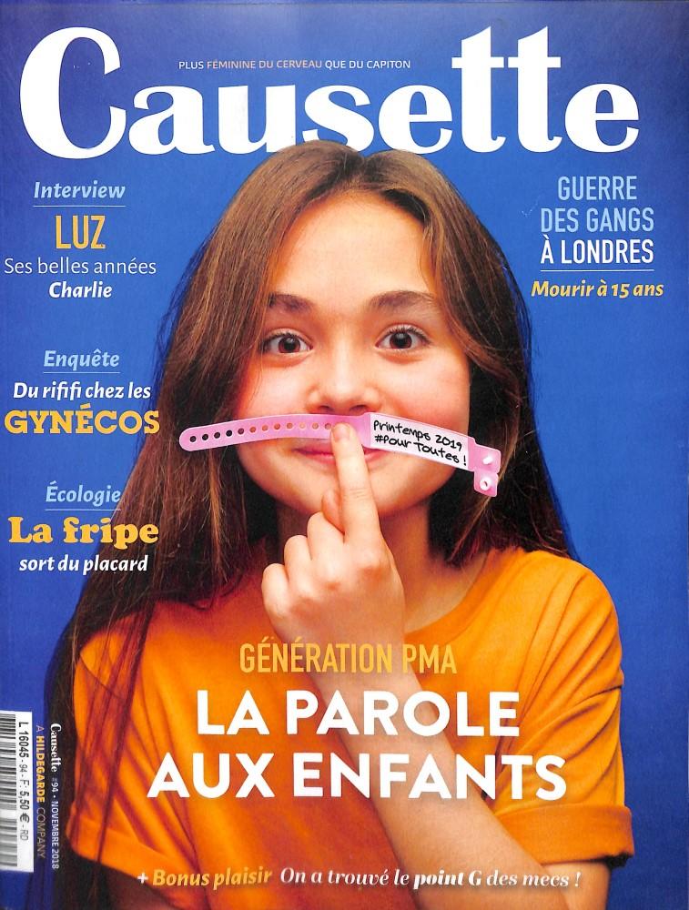 Causette N° 94 November 2018