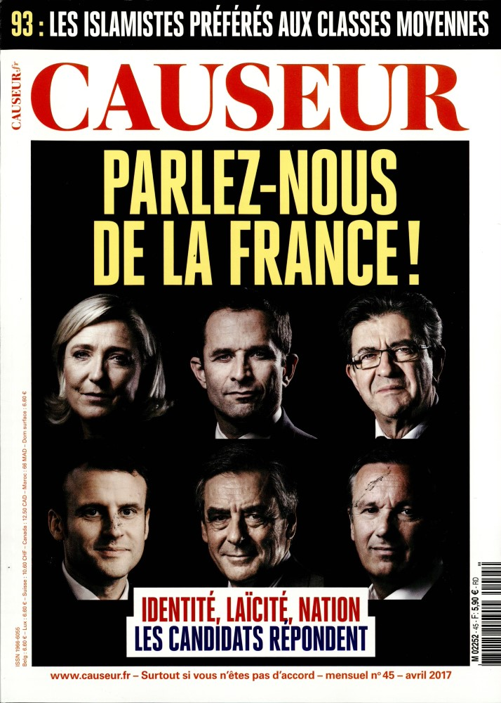 Causeur N° 45 Avril 2017
