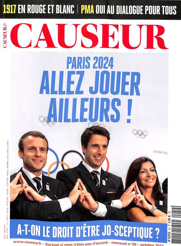 Causeur N° 50 Octobre 2017