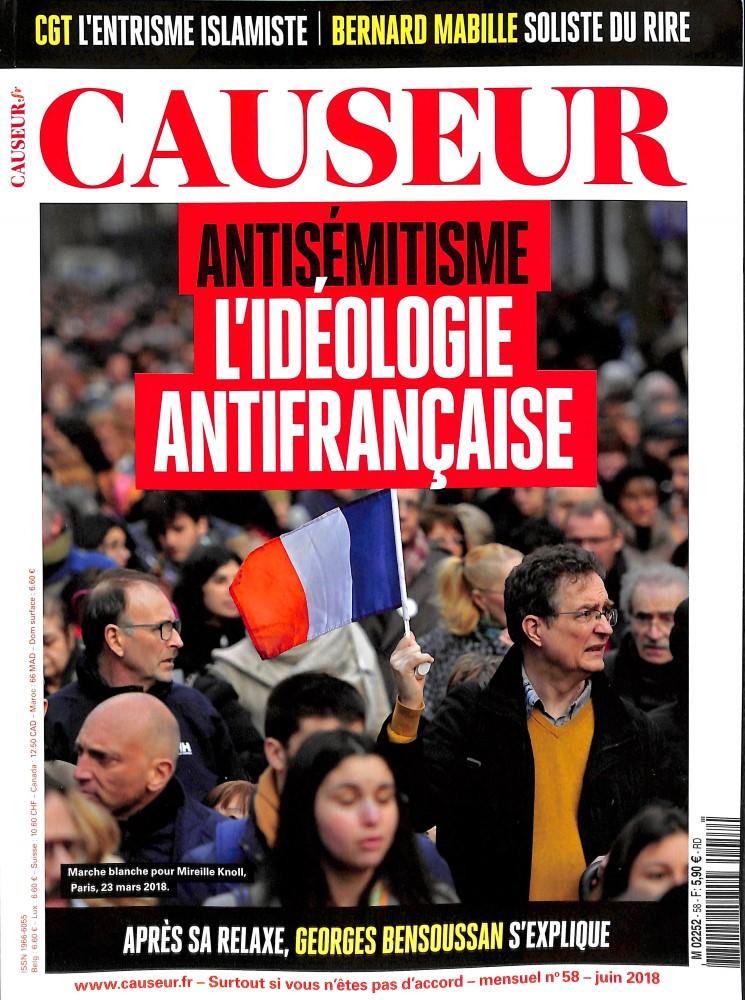 Causeur N° 58 June 2018