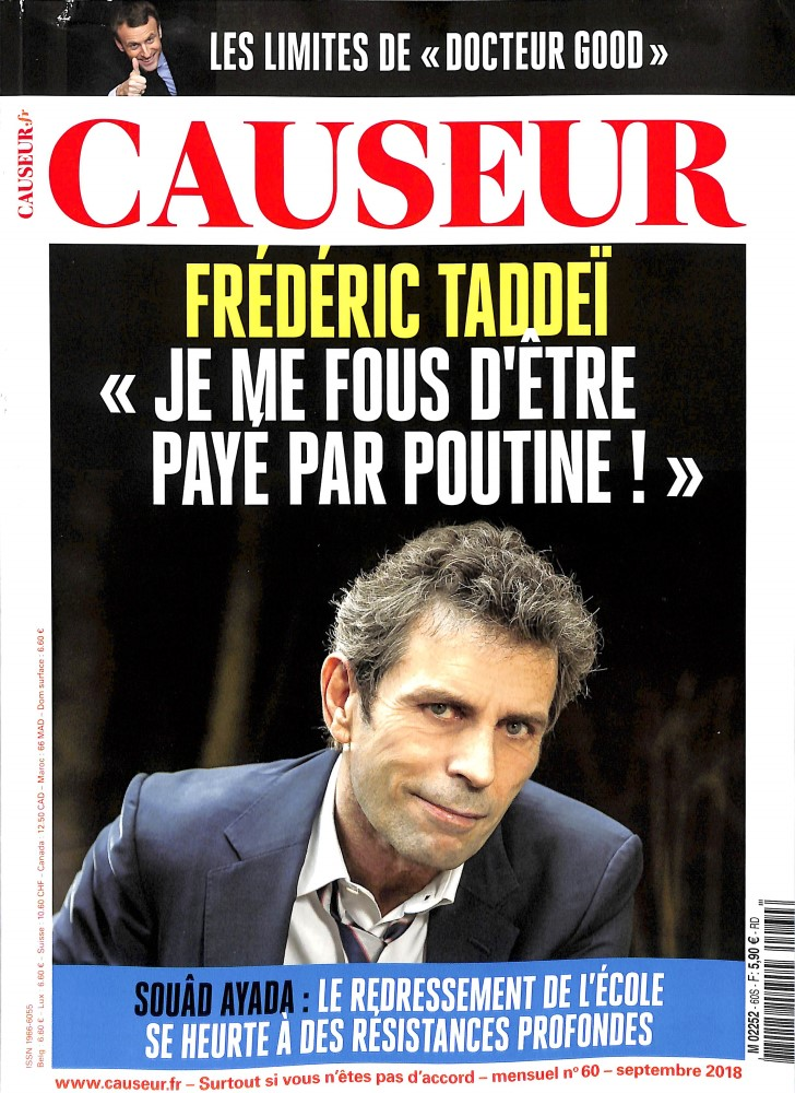 Causeur N° 61 October 2018