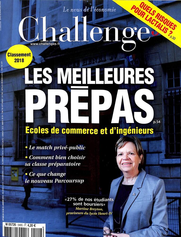 Challenges N° 618 Juillet 2019