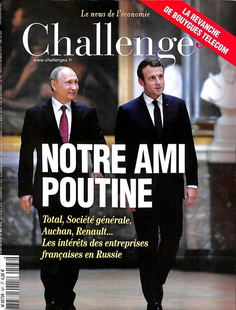 Challenges N° 578 September 2018