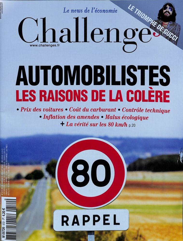 Challenges N° 574 July 2018