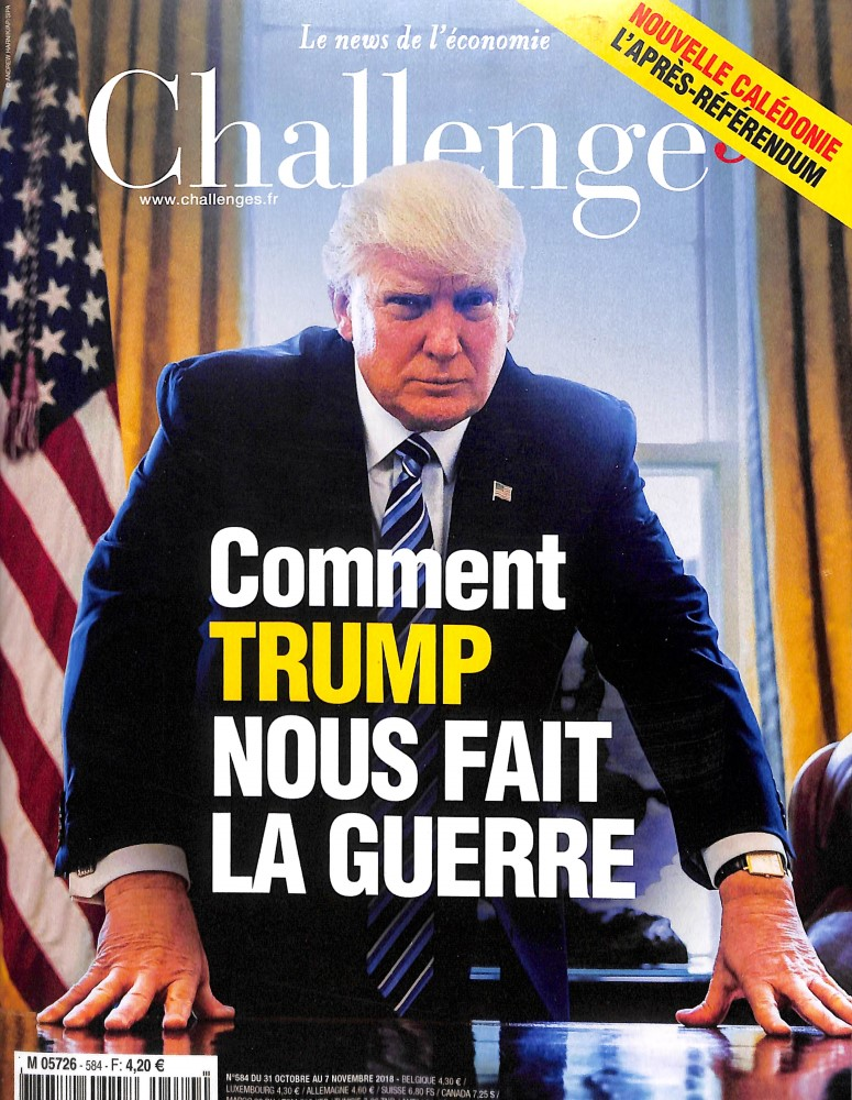 Challenges N° 585 November 2018