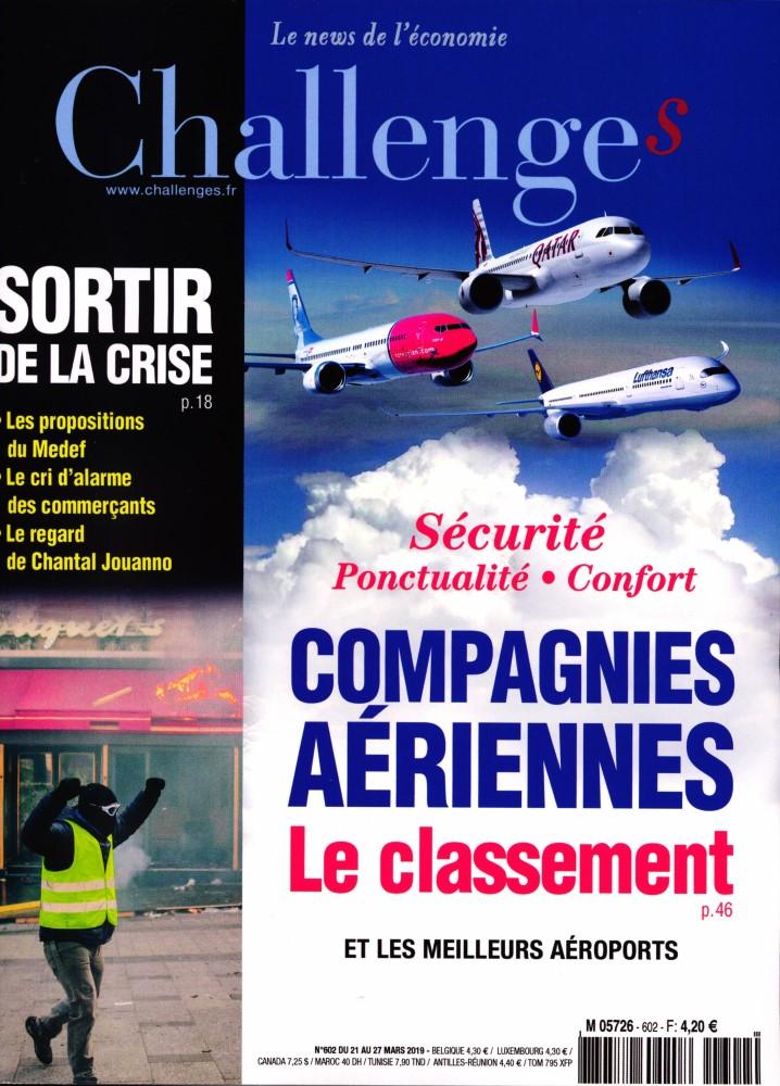 Challenges N° 602 Mars 2019