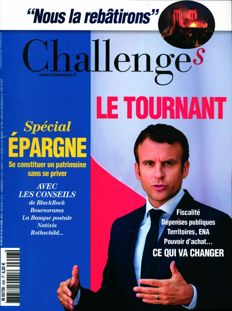 Challenges N° 607 Avril 2019