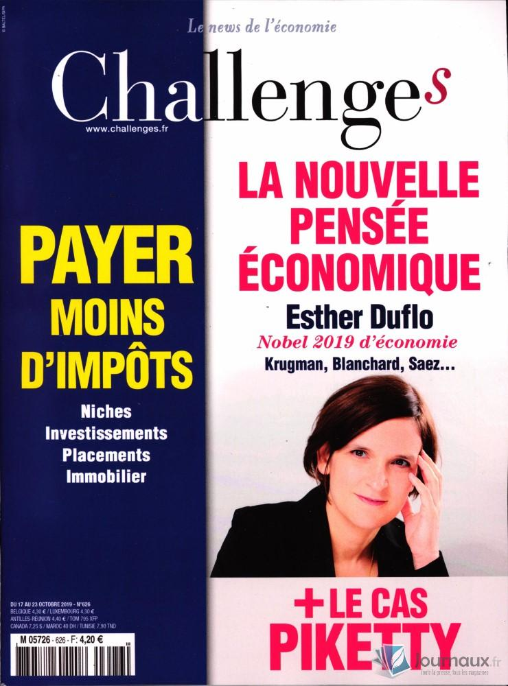 Challenges N° 626 Octobre 2019