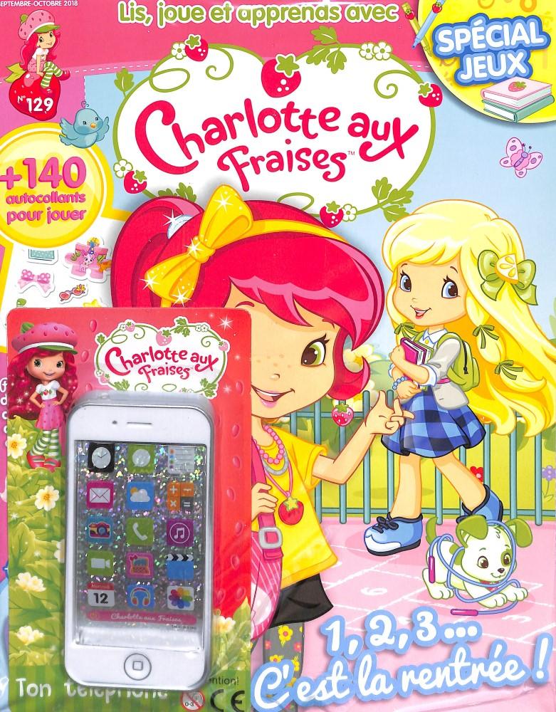 Charlotte aux fraises N° 129 August 2018
