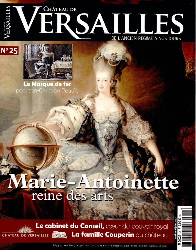 Château de Versailles N° 25 Mars 2017