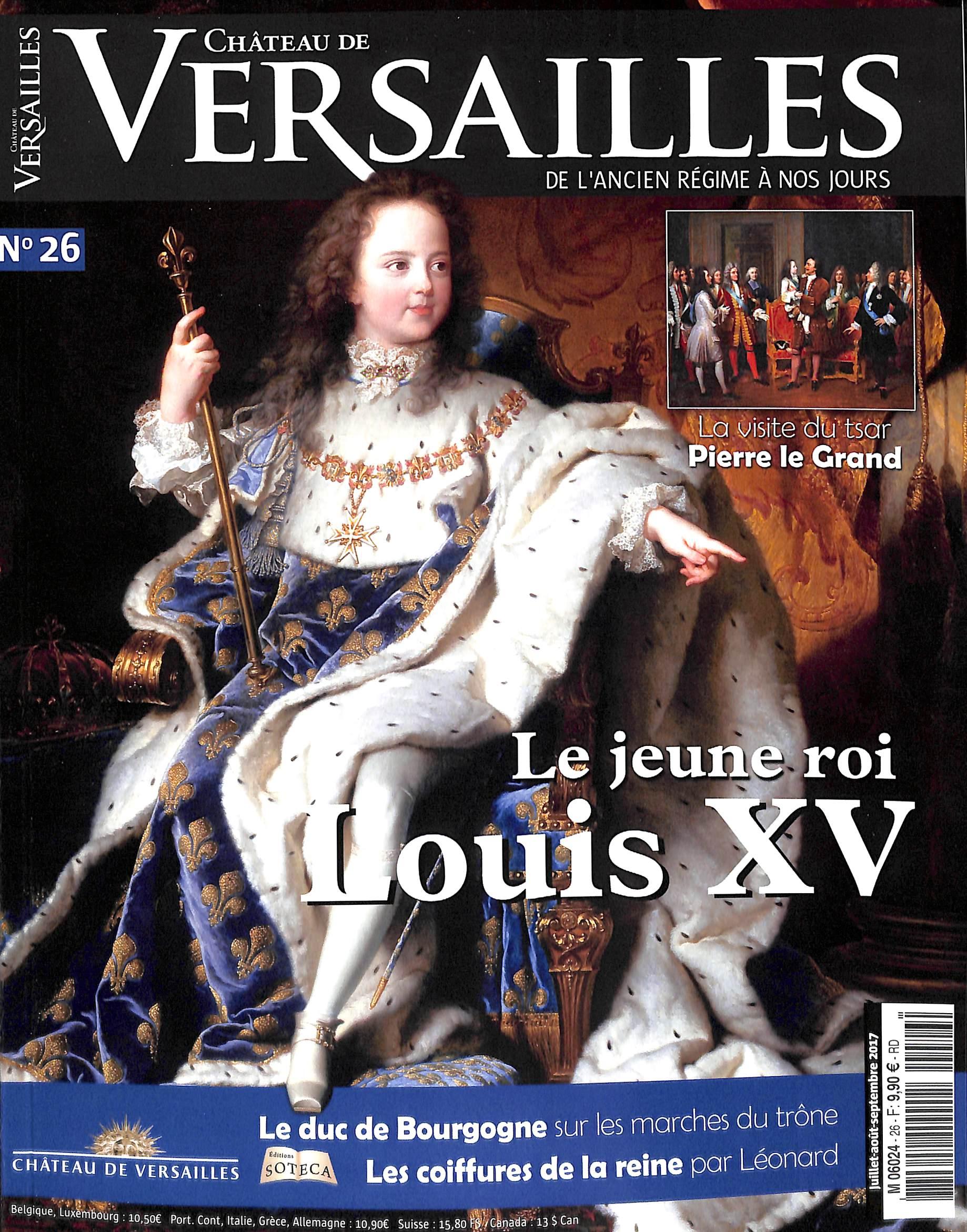 Château de Versailles N° 26 Juillet 2017