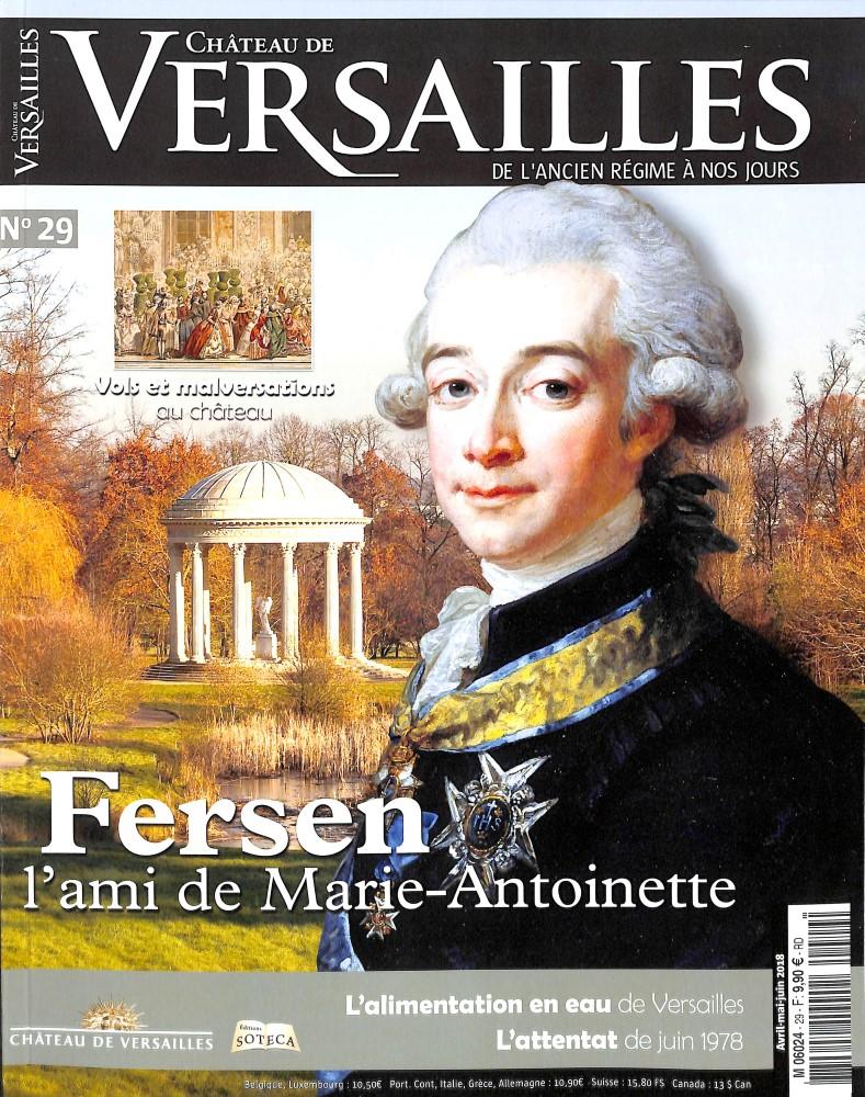 Château de Versailles N° 29 April 2018