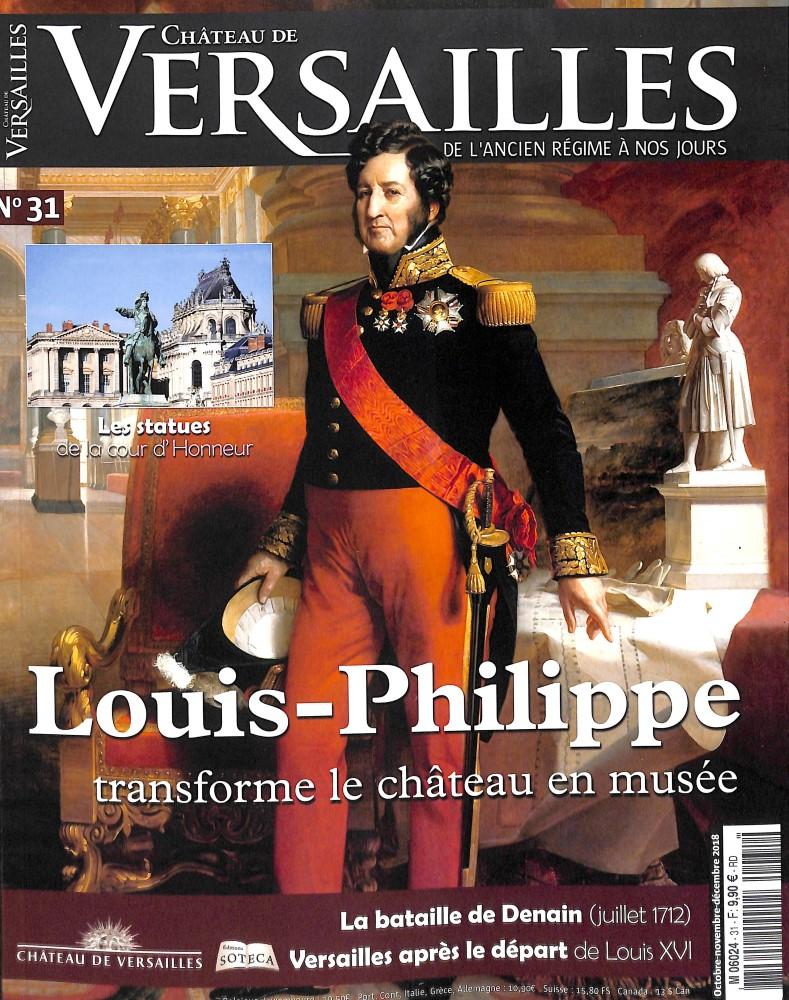 Château de Versailles N° 31 September 2018