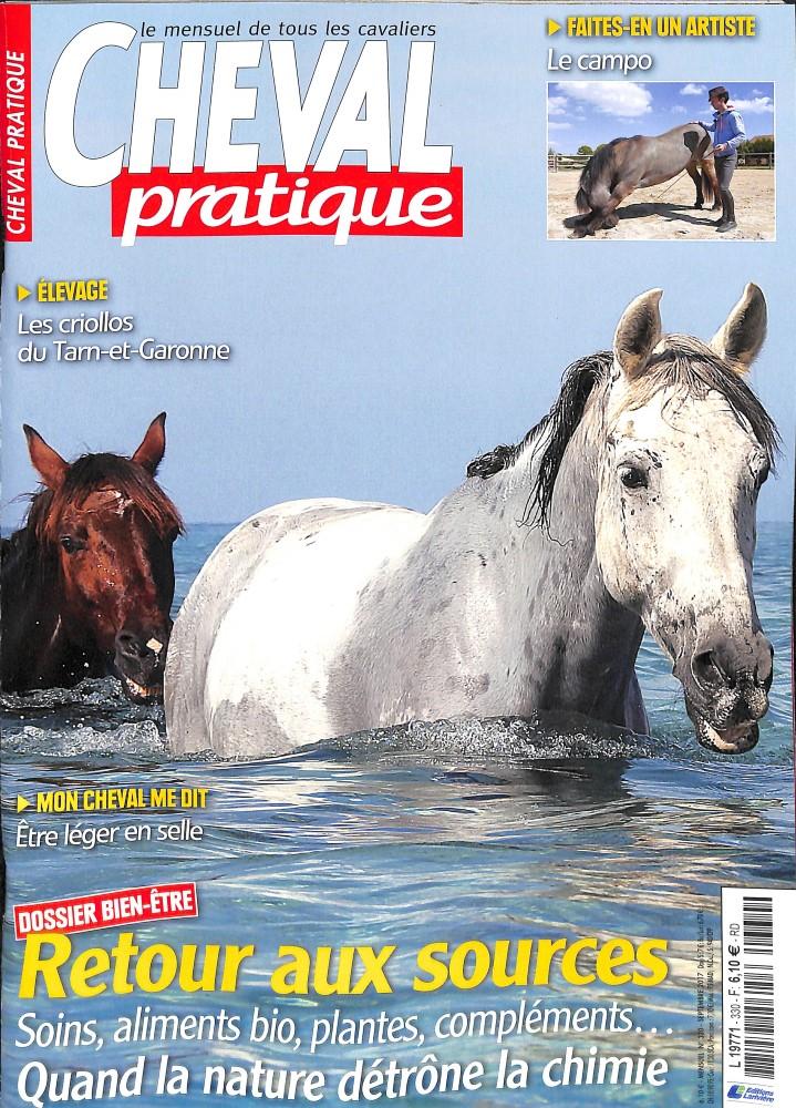 Cheval pratique N° 330 Août 2017
