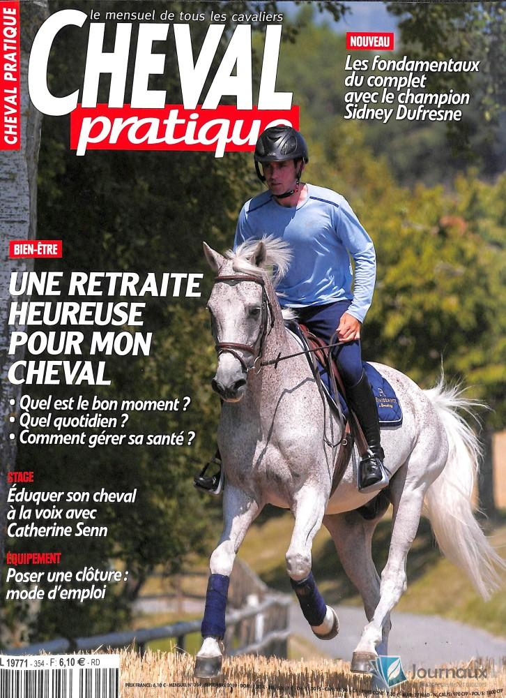 Cheval pratique N° 355 Septembre 2019