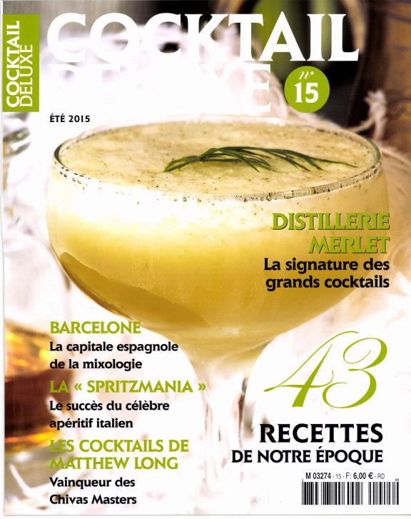 Cocktail Deluxe N° 21 Juin 2018