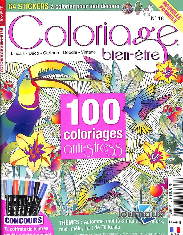Coloriage serenity N° 1 Janvier 2020