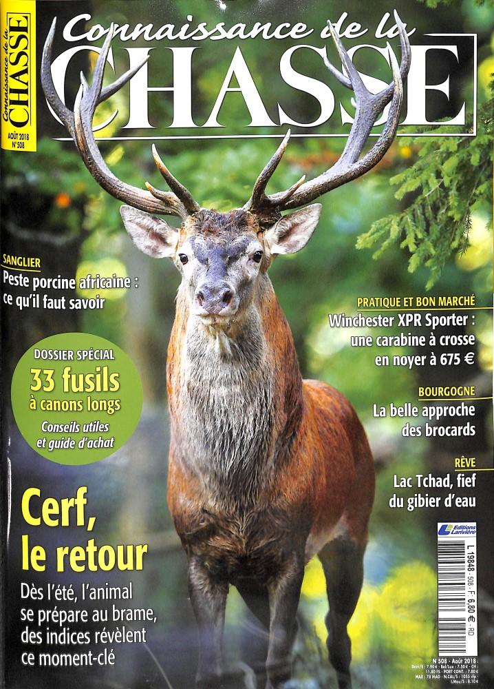 Connaissance de la chasse N° 512 November 2018