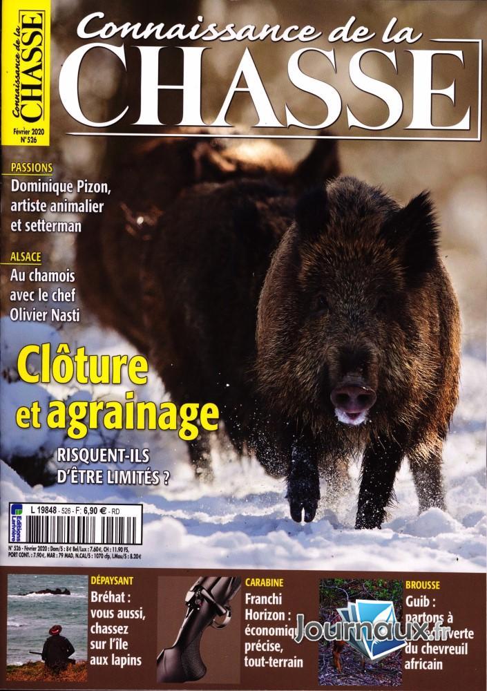 Connaissance de la chasse N° 526 Janvier 2020