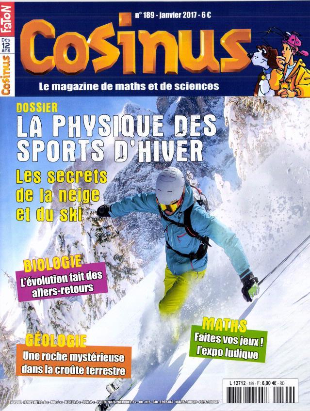 Cosinus N° 189 Janvier 2017