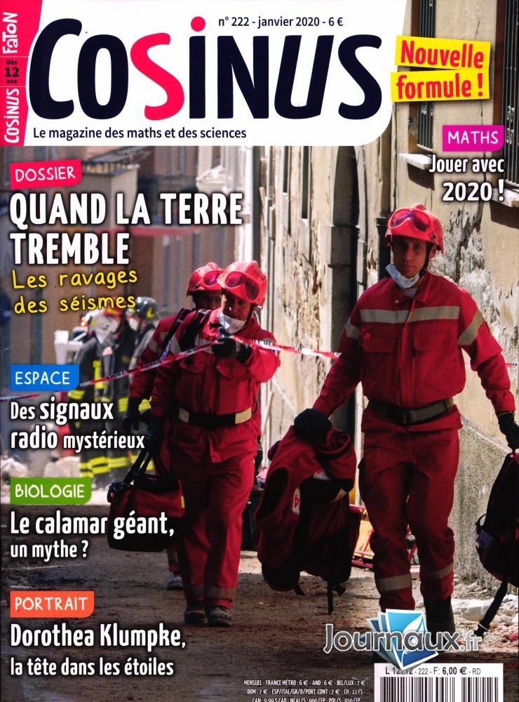 Cosinus N° 222 Janvier 2020