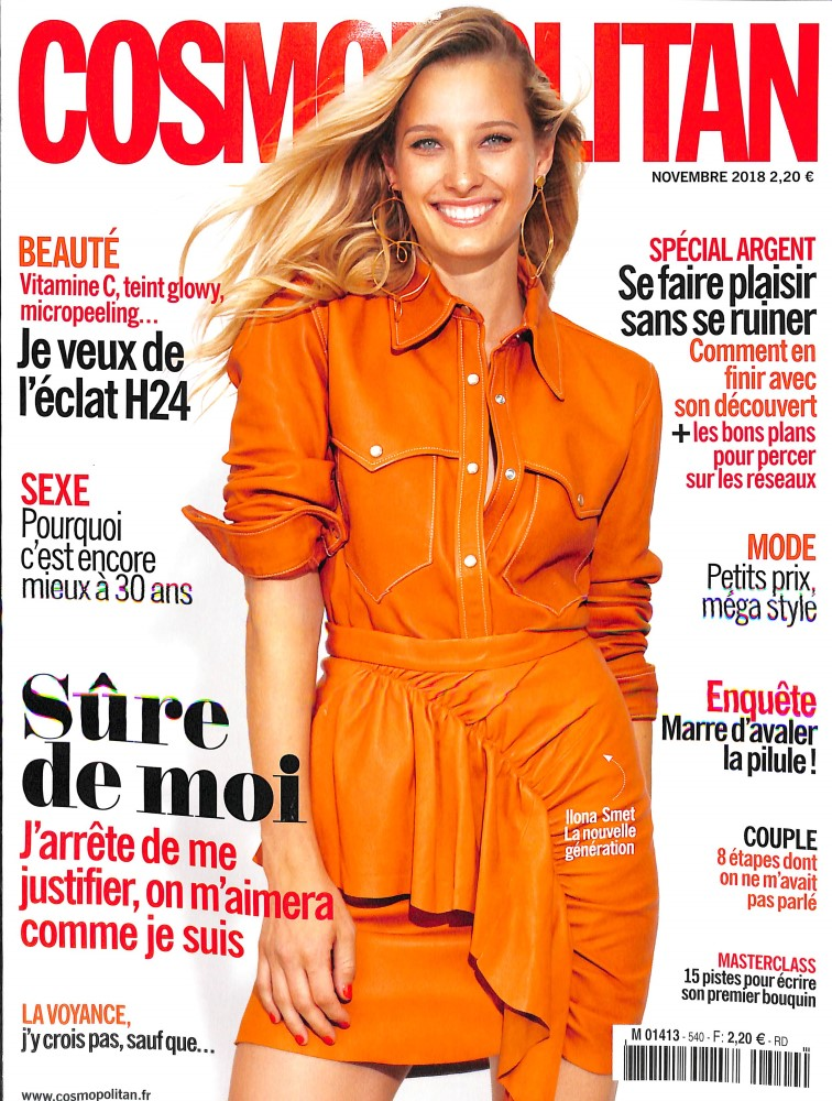 Cosmopolitan N° 540 October 2018