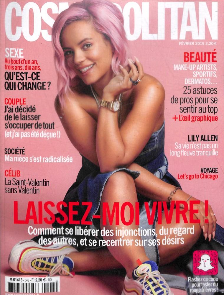 Cosmopolitan N° 543 Février 2019