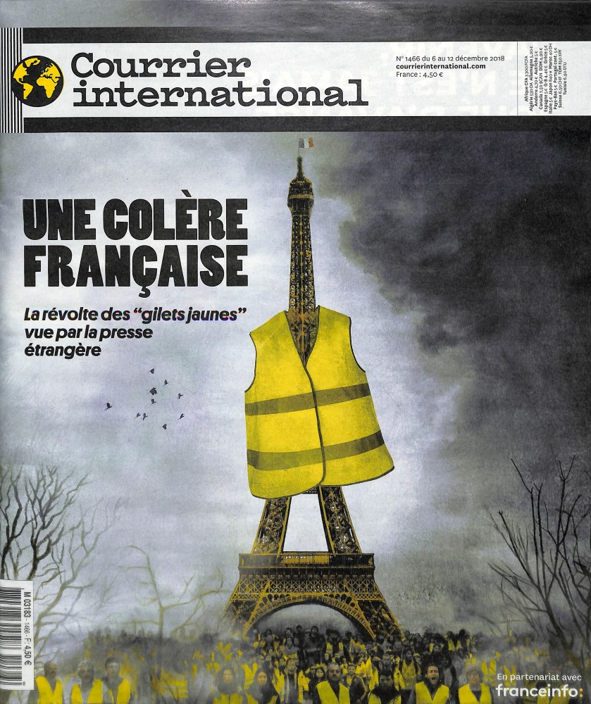 Abonement COURRIER INTERNATIONAL - Une synthèse hebdomadaire de la presse internationale - Economisez jusqu'à 35% 1 an - 52 n° + 1 hs - Une synthèse quotidienne de la - Prix si achat au numéro : 159 € - Réduction : 50% !