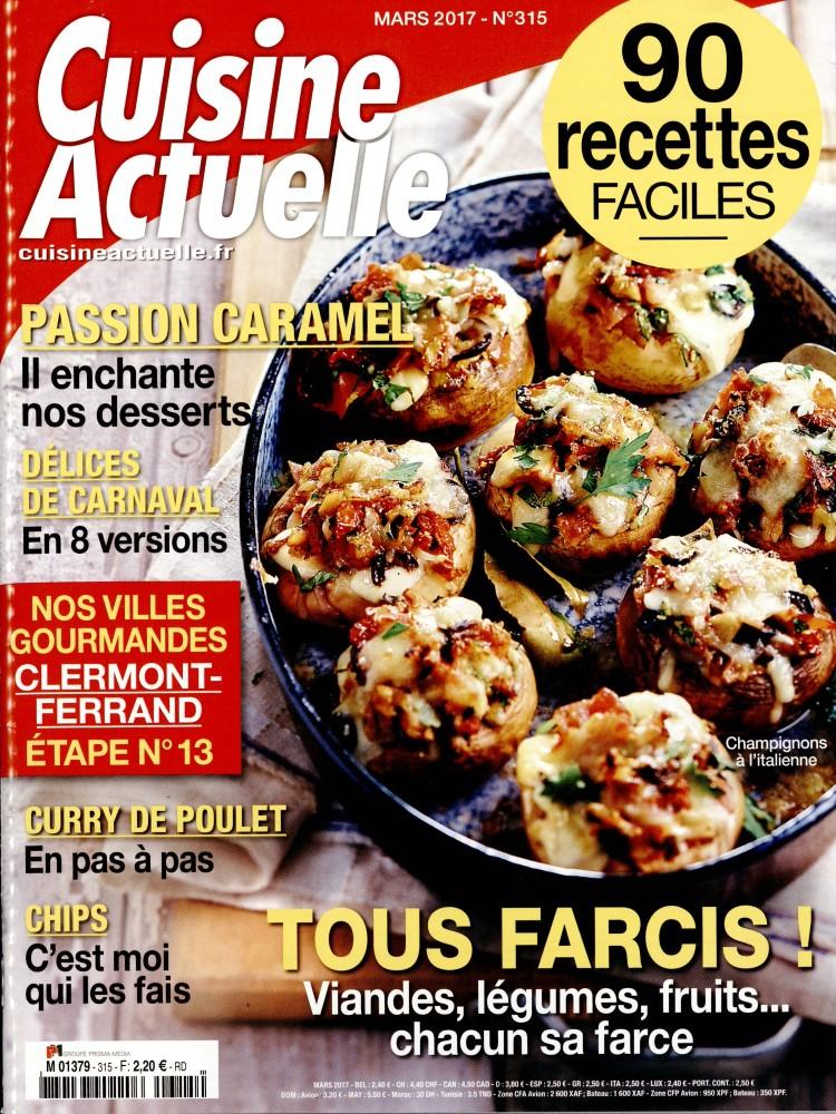 Cuisine actuelle n 315 abonnement cuisine actuelle - Abonnement cuisine actuelle ...