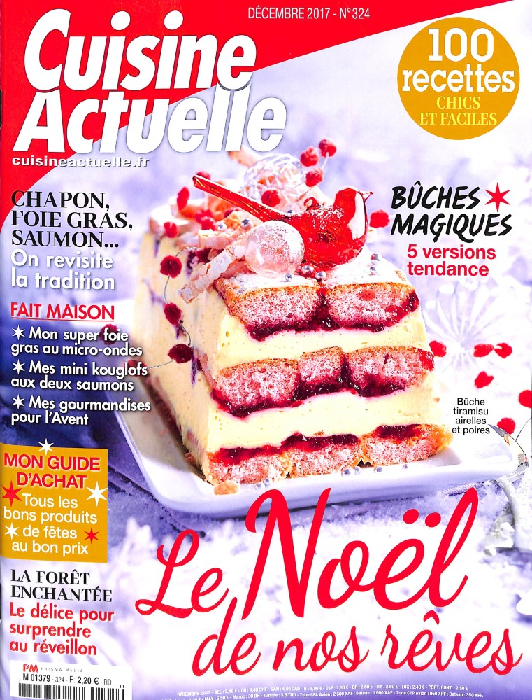 Cuisine actuelle n 324 abonnement cuisine actuelle for Abonnement cuisine actuelle