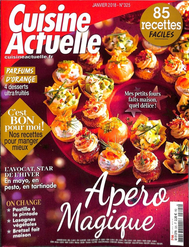 Abonnement cuisine actuelle abonnement magazine par for Cuisine actuelle