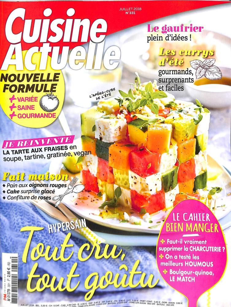abonnement cuisine actuelle abonnement magazine par. Black Bedroom Furniture Sets. Home Design Ideas