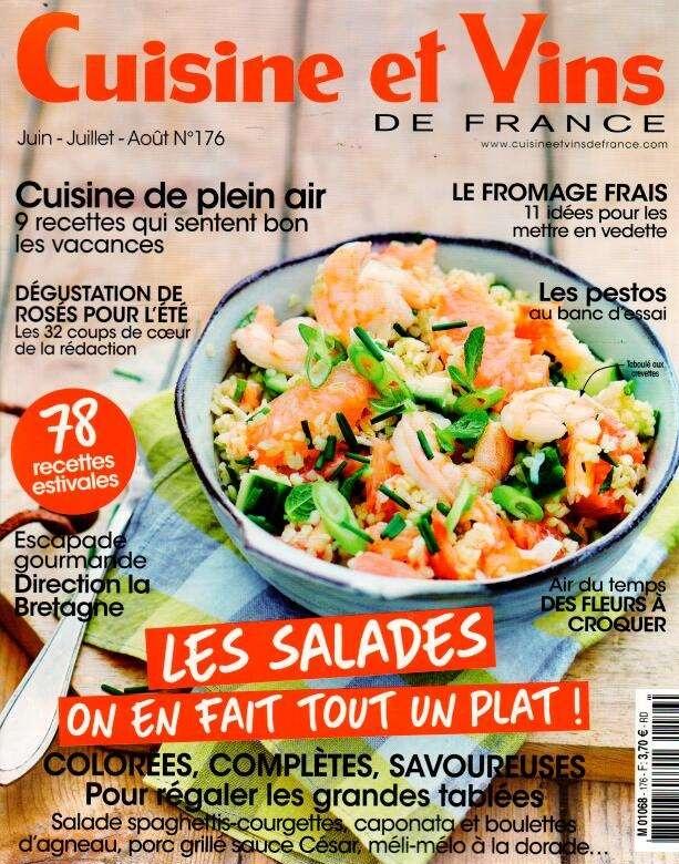 Cuisine et vins de france n 176 abonnement cuisine et for Cuisine et vins de france