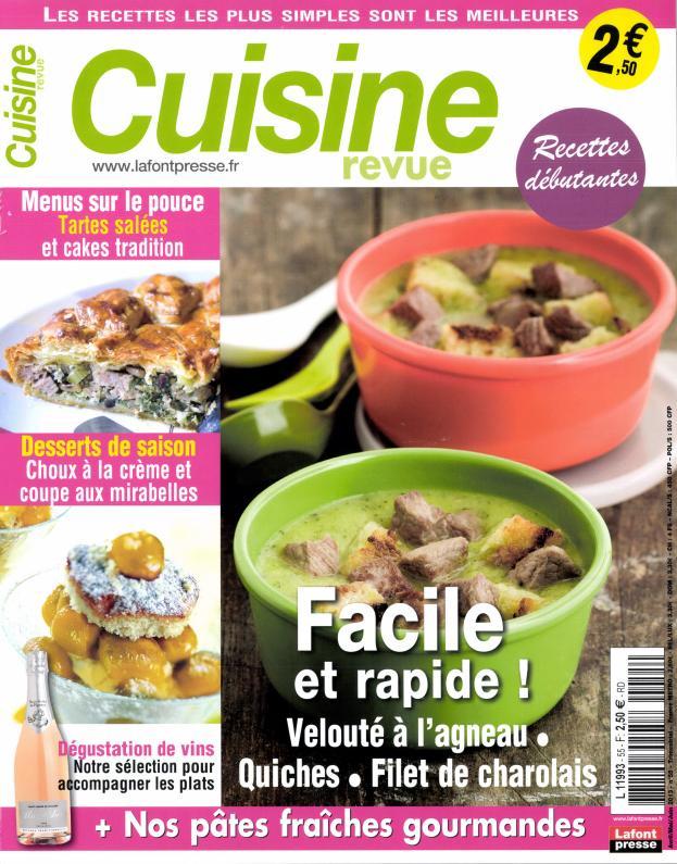 Cuisine revue N° 79 Octobre 2019