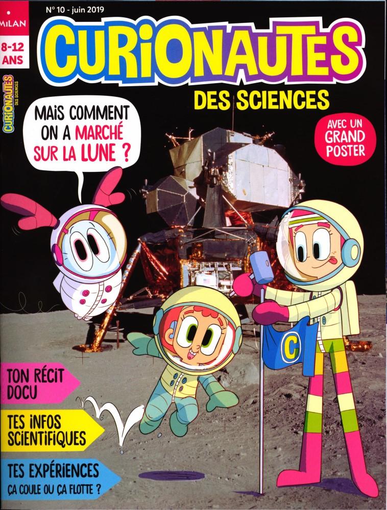 Curionautes des sciences N° 10 Mai 2019