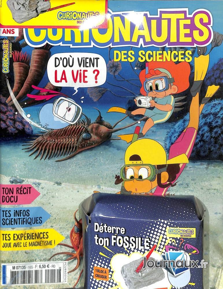 Curionautes des sciences N° 16 Janvier 2020