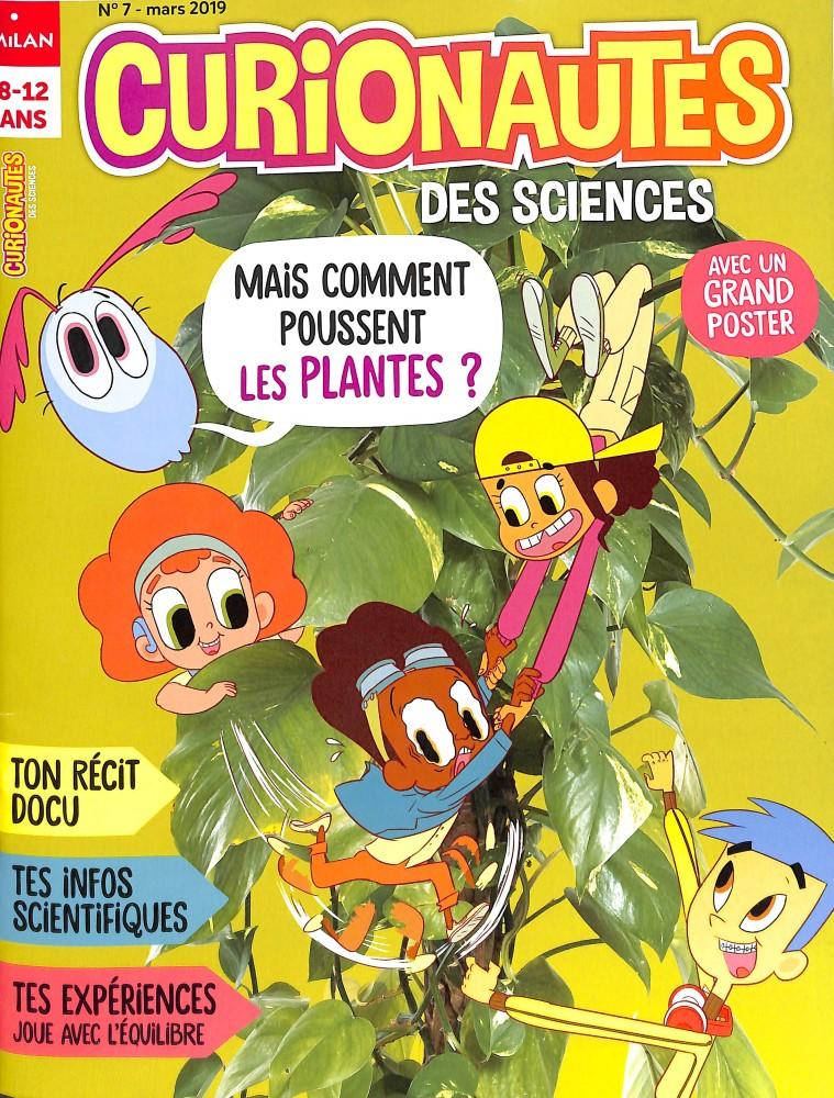 Curionautes des sciences N° 7 Février 2019