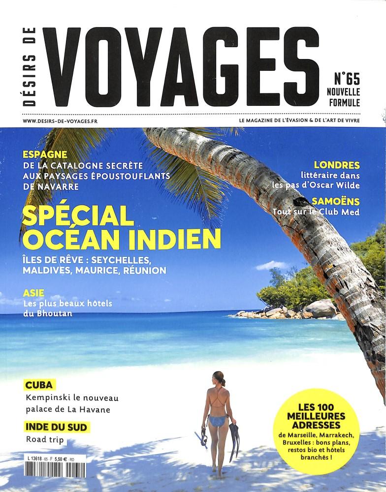 Désirs de Voyages N° 66 April 2018