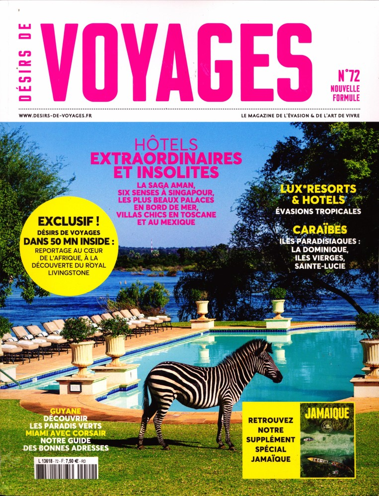 Désirs de Voyages N° 71 Mai 2019