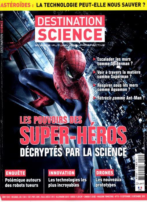 Destination science le mag N° 26 Juin 2018