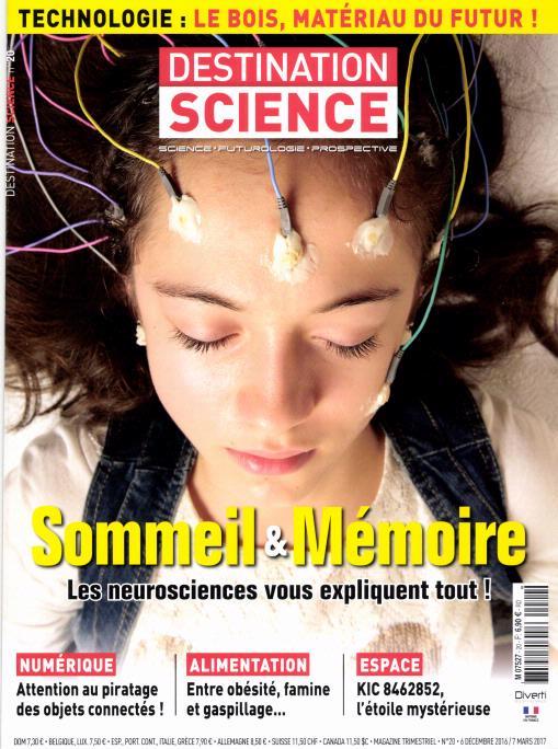 Destination science N° 20 Décembre 2016