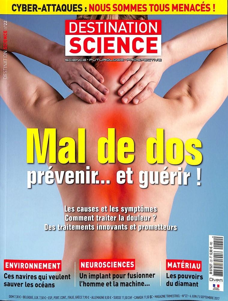Destination science N° 22 Juin 2017