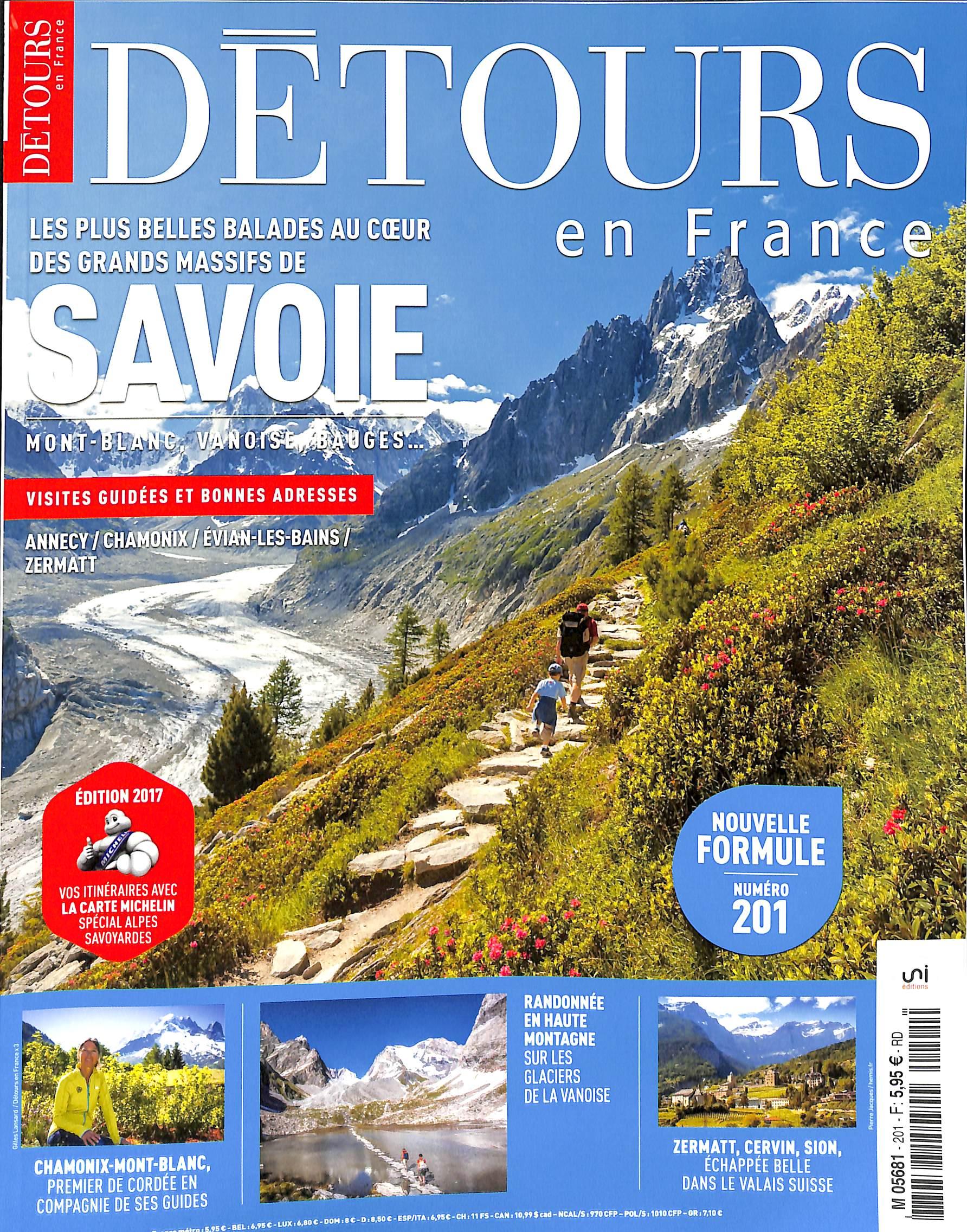 Détours en France N° 201 Juillet 2017