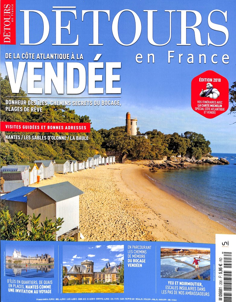 Détours en France N° 206 March 2018