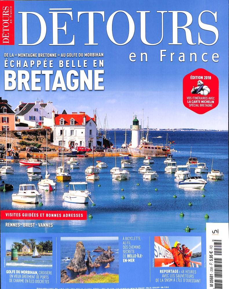 Détours en France N° 208 May 2018